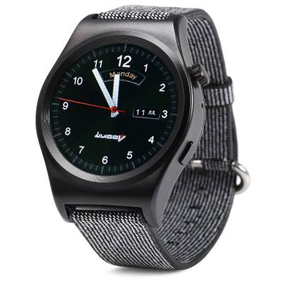 LUOOV LV01 SMART WATCH HEART RATE MONITOR SEDENTARY CALORIE PEDOMETER SPORT WRISTWATCH (BLACK)