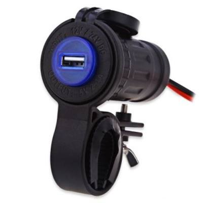 C944 - 60L - Z SINGLE USB CHARGING BLUE INDICATOR WITH MOUNT GASKET