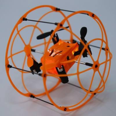 HELIC MAX SKY WALKER 1336 2.4GHZ 4CH RC QUADCOPTER 3D FLIP CLIMBING WALL ROLLER COPTER