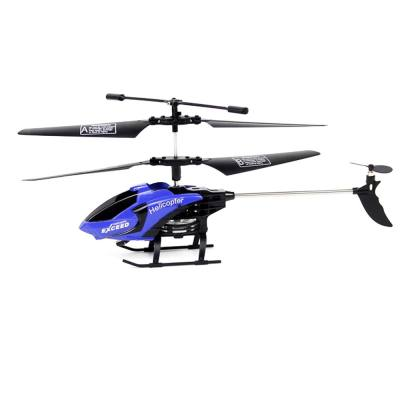 610 3.5CH 6-AXIS GYRO RTF INFRARED CONTROL HELICOPTER DRONE TOY (DEEP BLUE)