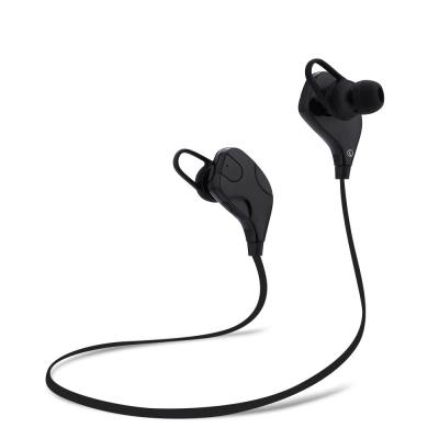 666e72d4671 QY7S BLUETOOTH V4.1 WIRELESS NOISE CANCELLING SPORT EARPHONES HEADPHONES  (BLACK)