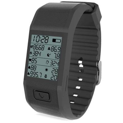 S3 SMART HESVITBAND WRIST TEMPERATURE TRACKING WRISTBAND (BLACK)