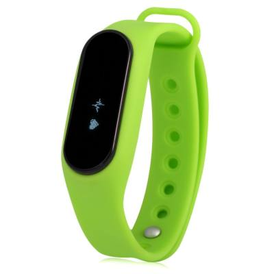 ES SMART WATCH WITH HEART RATE MONITOR PEDOMETER ANTI-LOST FUNCTION (GREEN)