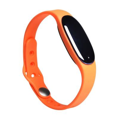 BLUETOOTH 4.0 SMART WRISTBAND SLEEP MONITOR NOTIFICATIONS REMINDER ANTI-LOST BRACELET (ORANGE)