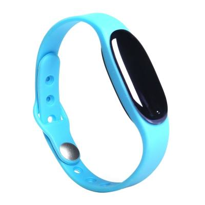 BLUETOOTH 4.0 SMART WRISTBAND SLEEP MONITOR NOTIFICATIONS REMINDER ANTI-LOST BRACELET (BLUE)