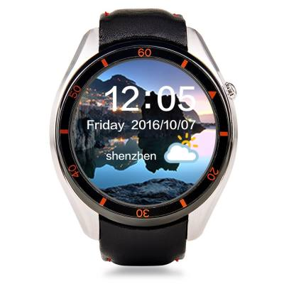 I3 ANDROID 5.1 1.39 INCH 3G SMARTWATCH PHONE MTK6580 1.3GHZ QUAD CORE 512MB RAM 4GB ROM WIFI PEDOMETER (SILVER)