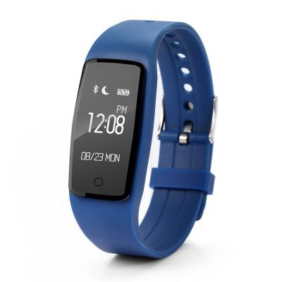 S1 HEART RATE MONITOR SMART BRACELET SPORT DATA RECORD GPS TRACKER ANTI-LOST WATCH (DEEP BLUE)