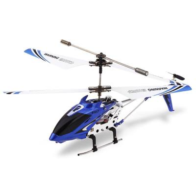 S107G 3CH REMOTE CONTROL HELICOPTER ALLOY COPTER WITH GYROSCOPE (BLUE)