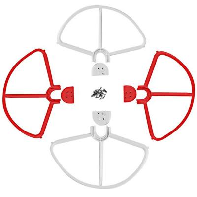 SPARE QUICK DISMANTLING PROTECTION RING SET FOR DJI PHANTOM 3 REMOTE CONTROL QUADCOPTER (RED WITH WHITE)