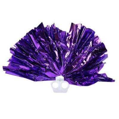 MULTICOLOR HAND FLOWER HANDBALL WITH DUAL RING FOR CHEERLEADING LALA GYM (#13)