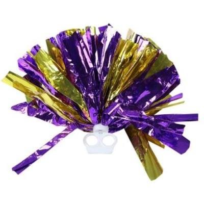 MULTICOLOR HAND FLOWER HANDBALL WITH DUAL RING FOR CHEERLEADING LALA GYM (#19)