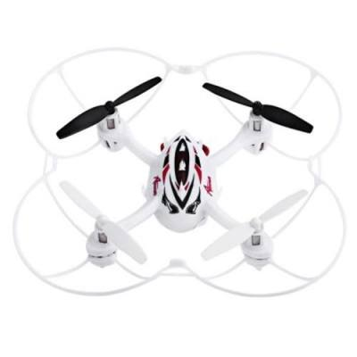 HUANQI 887B 2.4G 4CH 4-AXIS GYRO REVERSE FLIGHT RTF RC QUADCOPTER TOY (WHITE)