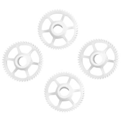 4PCS GEAR ACCESSORY FITTING FOR HUBSAN H502S H502E RC QUADCOPTER (WHITE)