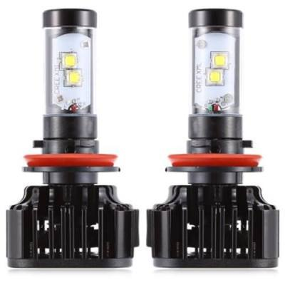 PAIRED K8  H8 / 9 / 11 80W INTEGRATED LED VEHICLE HEADLIGHT HEAT DISSIPATION VIBRATION RESISTANCE