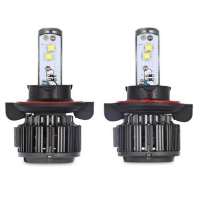PAIRED K7 H13 80W INTEGRATED LED VEHICLE HEADLIGHT HEAT DISSIPATION AUTOMOBILE VIBRATION RESISTANCE