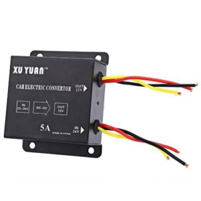 XUYUAN VEHICLE-MOUNTED POWER SUPPLY 5A DC 12V CONVERTER