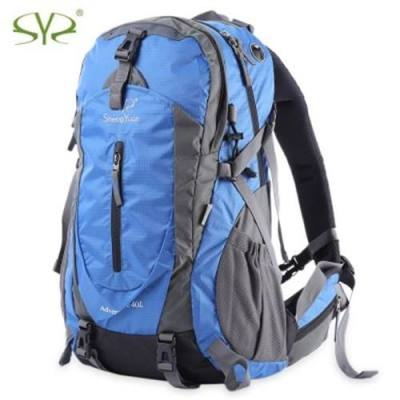 SHENGYUAN 35L BACKPACK KNAPSACK SHOULDER BAG WITH RAINPROOF COVER OUTDOOR KIT (BLUE)