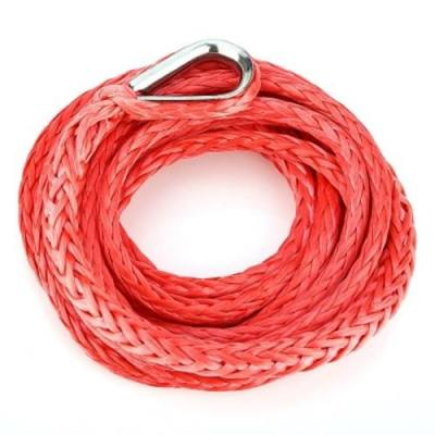 CAR WINCH ROPE 3/16 INCH 10 FEET STANDARD BREAKING STRENGTH 22.5CM PROTECTIVE SHEATH