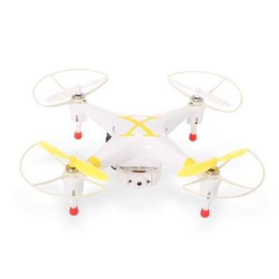 CHEERSON CX 30W WITH TRANSMITTER 2.4GHZ 4CH 4-AXIS GYRO WIFI REAL TIME TRANSMISSION FPV RTF RC QUADCOPTER WITH 0.3MP CAMERA (YELLOW)