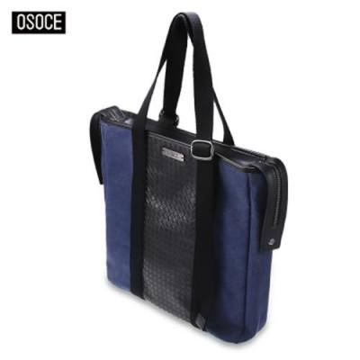 OSOCE T102 MULTIFUNCTIONAL MAN CASUAL SWAGGER BAG FASHIONABLE TOTE HANDBAG (DENIM BLUE)