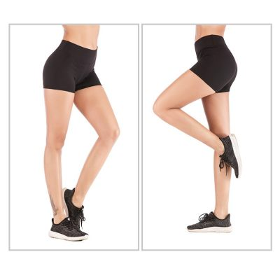 Quick Dry High Stretch Sports Gym Shorts Exercise Fitness Buttock Lift Yoga Pants