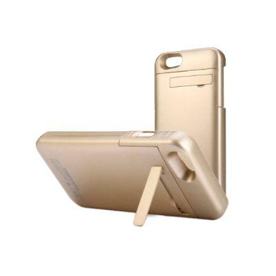 [2PCS] 3200mAh External Battery Backup Power Battery Bank Case Holder for iPhone 6 / 6S (GOLD)