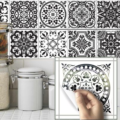 10 Pcs Self Adhesive Tile Stickers (Design 35)