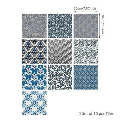 10 Pcs Self Adhesive Tile Stickers (Design 36)