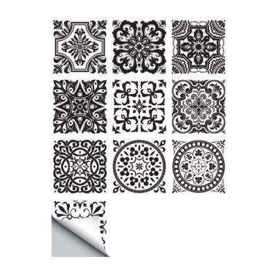 10 Pcs/Set Self Adhesive Tile Stickers (Design 66)