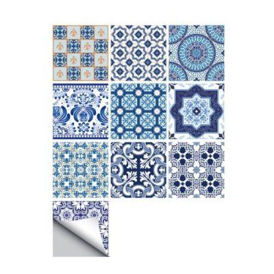 10 Pcs/Set Self Adhesive Tile Stickers (Design 68)