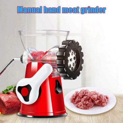 [ Hot Sales ] Manual Meat Grinder Hand-crank Vegetable Meat Food Chopper Grinder for Kitchen