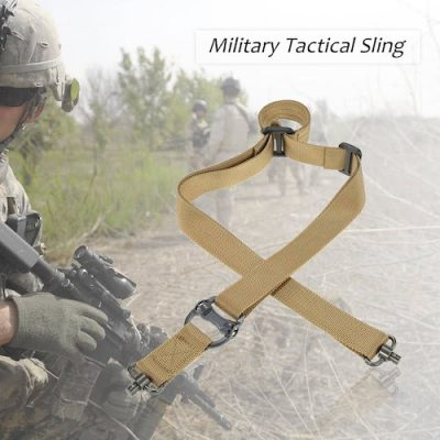 Docooler Military Tactical Safety Two Points Outdoor Belt QD Series Sling Adjustable Strap