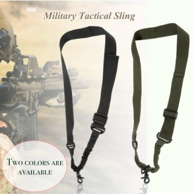 [1 Pcs] Docooler Military Tactical Safety One Point Outdoor Belt Carbine Sling Adjustable Strap
