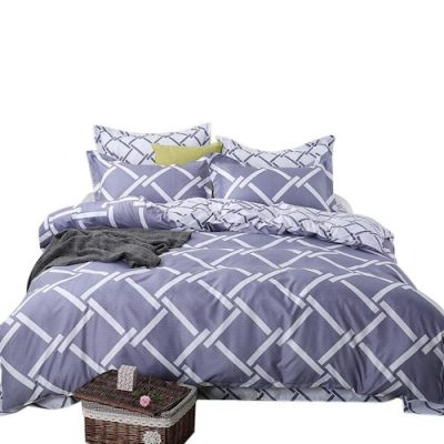 4Pcs/Set Home Fashionable Cartoon Bedding Set