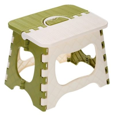 Plastic Folding Step Stool Portable Folding Chair Small Bench