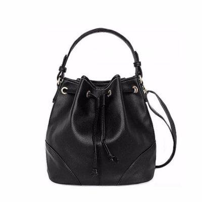 Lulugift TSAR Stylish Leather Bucket Bag