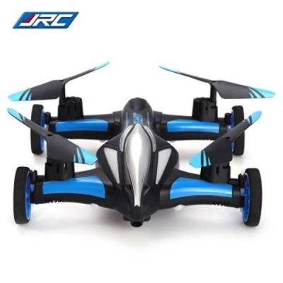 JJRC H23 2.4G RC QUADCOPTER LAND / SKY 2 IN 1 6 AXIS GYRO UFO HEADLESS MODE / ONE KEY RETURN FEATURE (BLUE AND BLACK)