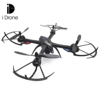 I DRONE I8H 2.4GHZ 4CH 6 AXIS GYRO RC QUADCOPTER WITH HD CAMERA AIR PRESS ALTITUDE HOLD WIFI REAL TIME TRANSMISSION (BLACK)