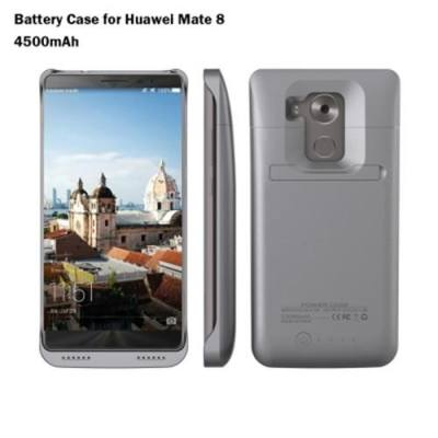 4500MAH BACKUP BATTERY EXTERNAL POWER BANK CHARGER CASE FOR HUAWEI MATE 8 (GRAY)