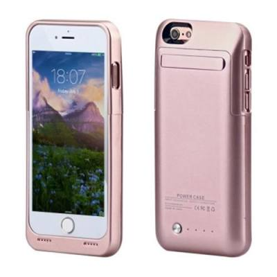 3500MAH BACKUP BATTERY EXTERNAL POWER BANK CHARGER CASE FOR IPHONE 6 / 6S 4.7 INCH (ROSE GOLD)