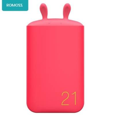 ROMOSS LOVELY 6000MAH EXTERNAL BATTERY PACK POWER BANK (RED)