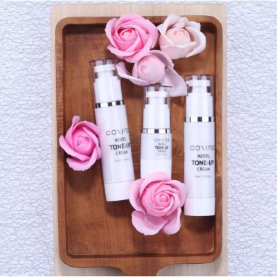 Cozena Model 3 in 1 Tone Up Cream as Moisturizer Foundation and BB Cream Concealer non sticky even tone skin