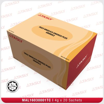 [ Local Ready Stocks ] Tasly Angelica Sinensis Plus Granule For Blood Vessels 天士力培元养血颗粒 ( 20 Sachets )