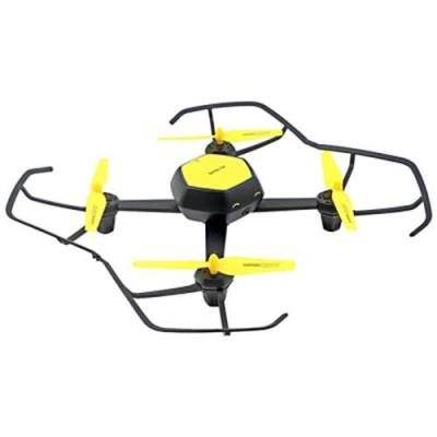 HJ TOYS QQ - FLY W606 - 6 RC DRONE WIFI FPV 480P CAMERA 2.4GHZ 6-AXIS GYRO HEADLESS MODE AIR PRESS ALTITUDE HOLD (YELLOW)