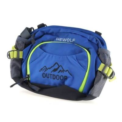 HEWOLF 1634 UNISEX OUTDOOR WATERPROOF FANNY PACK MULTI-FUNCTION MOUNTAINEERING WAIST BAG (BLUE)