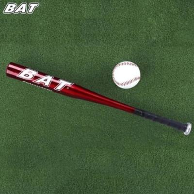 BAT OUTDOOR SPORTS ALUMINUM ALLOY SOFT BASEBALL BAT (DEEP RED)