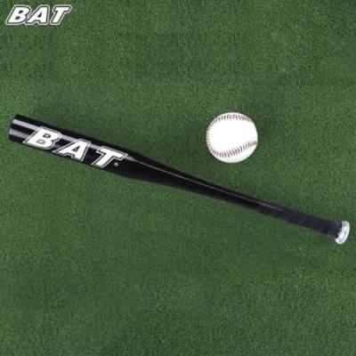 BAT OUTDOOR SPORTS ALUMINUM ALLOY SOFT BASEBALL BAT (BLACK)