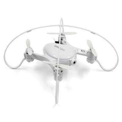 FY603 MINI RC DRONE RTF WIFI FPV 0.3MP CAMERA 2.4GHZ 4CH 6-AXIS GYRO AIR PRESS ALTITUDE HOLD HAND LAUNCHING (WHITE)