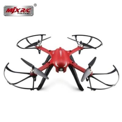 MJX B3 BUGS 3 RC QUADCOPTER RTF TWO-WAY 2.4GHZ 4CH WITH ACTION CAMERA BRACKET (RED)