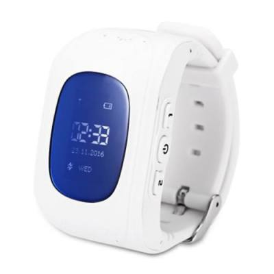 Q50 RUSSIAN VERSION CHILDREN SAFETY MONITORING GPS INTELLIGENT WATCH TELEPHONE (WHITE)